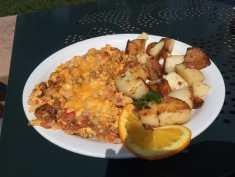 Spicy Chorizo Scramble