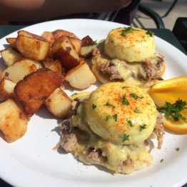 Kalua Pork Eggs Benedict
